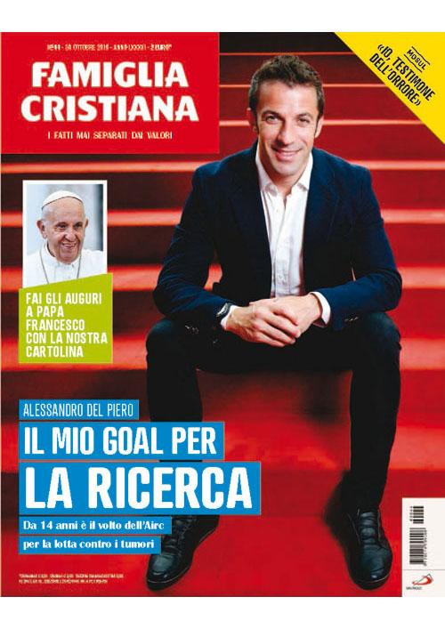 Revista de imprensa: Famiglia Cristiana